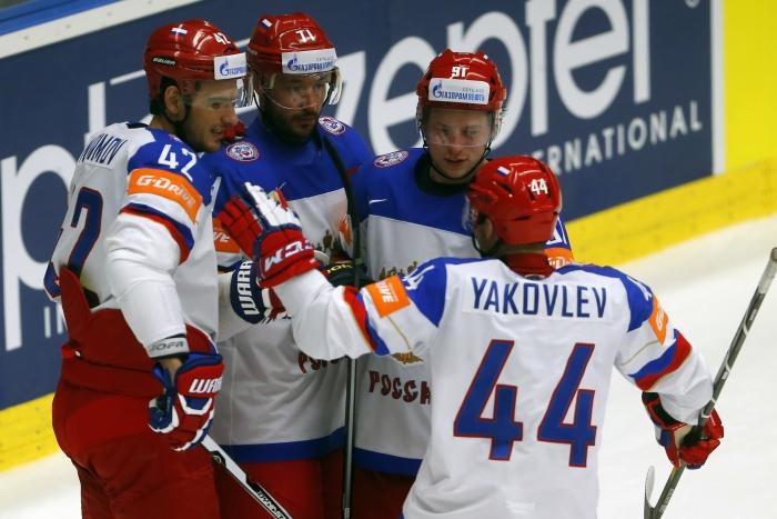 голы по хоккею сборной россии