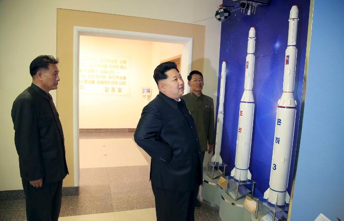 КНДР провела испытания новой баллистической ракеты