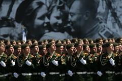 На Красной площади завершился парад Победы