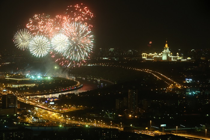 Юбилей Победы отпраздновали 20 миллионов россиян