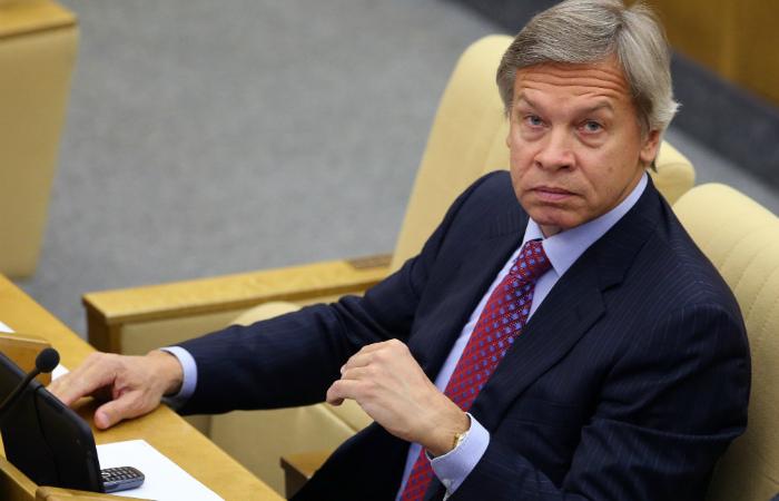 Пушков усмотрел связь между обстрелами Донбасса и решением ЕС о санкциях против России