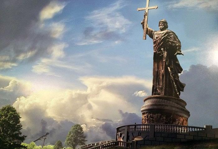 Князь Владимир открещивается от Киева