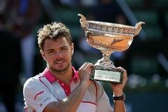 Станислас Вавринка выиграл Открытый чемпионат Франции по теннису