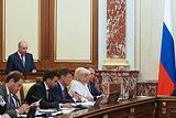 Правительство одобрило основные характеристики бюджета на следующую трехлетку