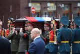 Евгения Примакова похоронили на Новодевичьем кладбище