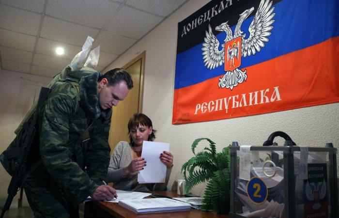 Глава ДНР назначил местные выборы на 18 октября