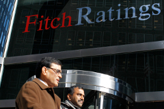 """Fitch оставило суверенные рейтинги РФ на уровне """"BBB-"""" с """"негативным"""" прогнозом"""