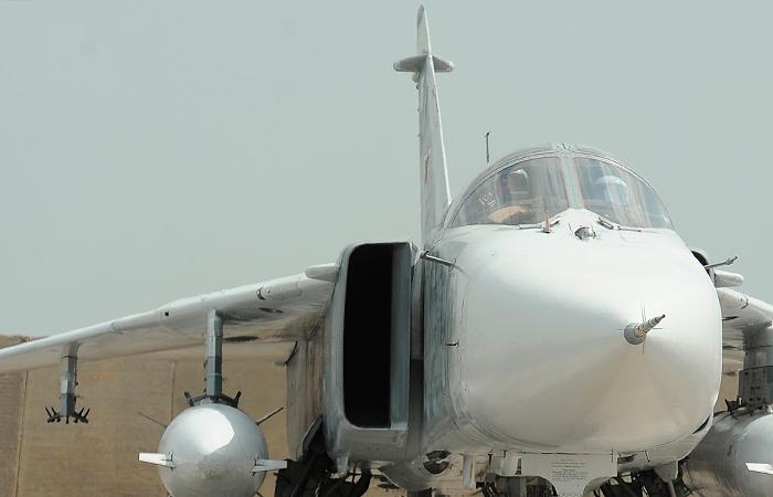 Бомбардировщик Су-24М потерпел катастрофу в Хабаровском крае