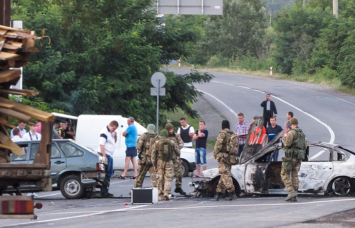 """В """"Правом секторе"""" пригрозили направить свои батальоны в Киев"""
