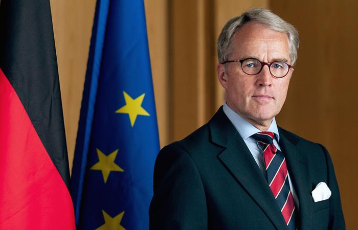 Посол Германии в  Москве: невозможно представить, чтобы будущее Евразии формировалось без России