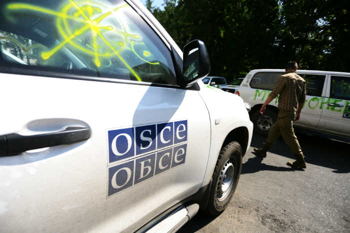 В ЛНР рассказали подробности обстрела миссии ОБСЕ