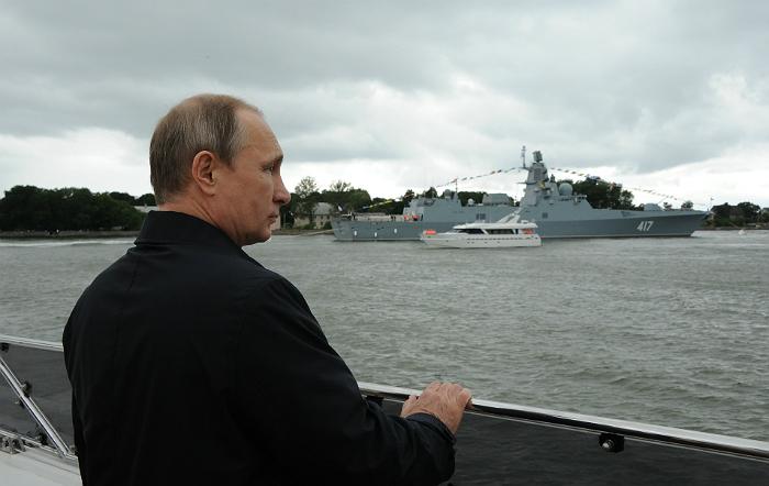 Путин утвердил изменения в Морскую доктрину РФ
