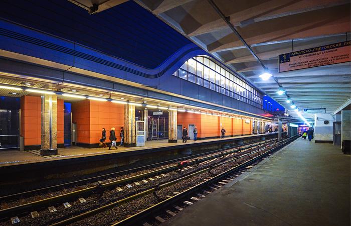 Упавшее дерево остановило движение на Филевской линии метро в Москве