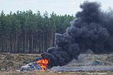 В Минобороны назвали предварительную причину аварии Ми-28
