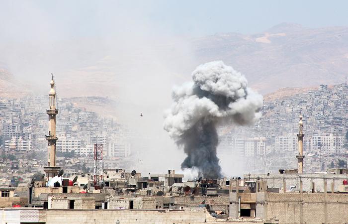 В США принято решение о нанесении авиаударов по правительственным войскам Сирии