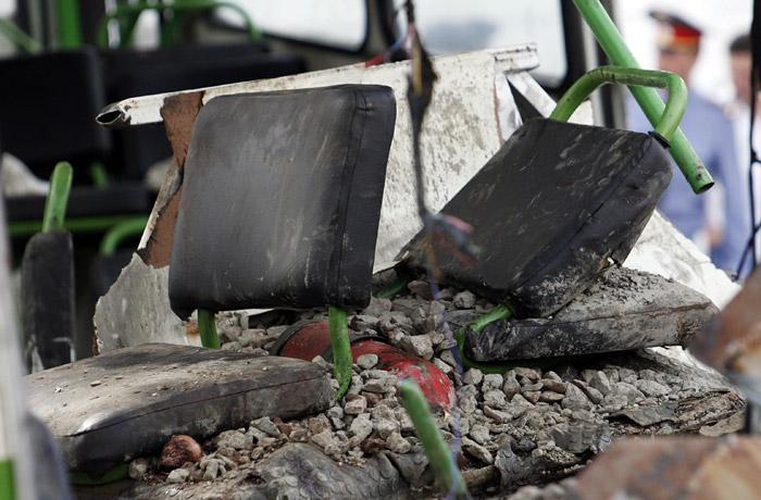 12 человек погибли при столкновении двух автобусов в Хабаровском крае