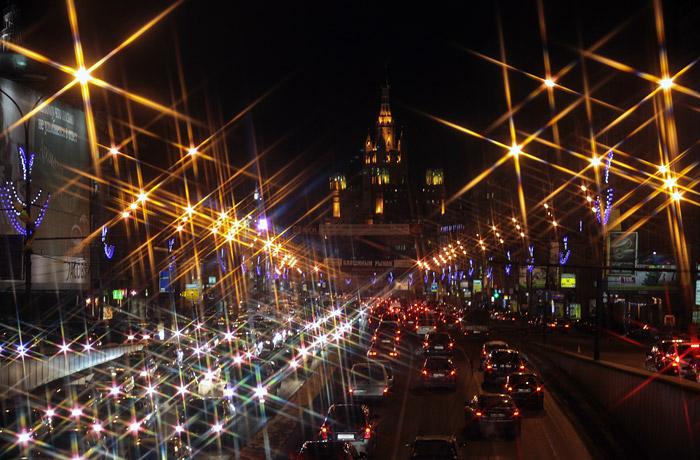 Пробки и дороговизна оказались главными проблемами для москвичей