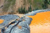 Ядовитые отходы окрасили реку в Колорадо в неестественный цвет