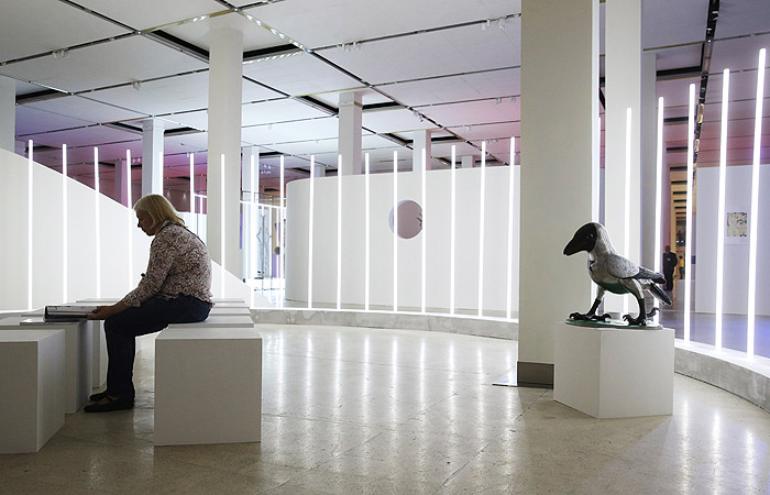 """Выставка в московском """"Манеже"""" заработала в обычном режиме после погрома"""