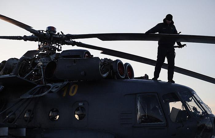 Вертолет Ми-8 пропал в Хабаровском крае