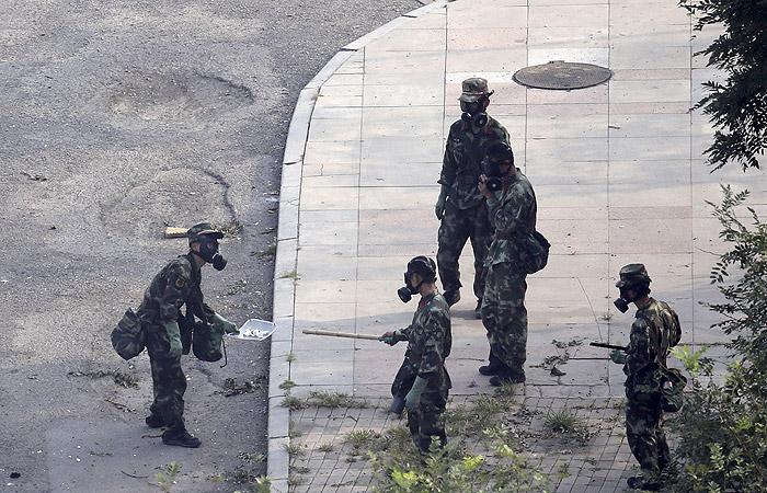 В Тяньцзине произошло несколько новых взрывов