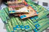 Обменные пункты и банки в Казахстане приостановили продажу долларов