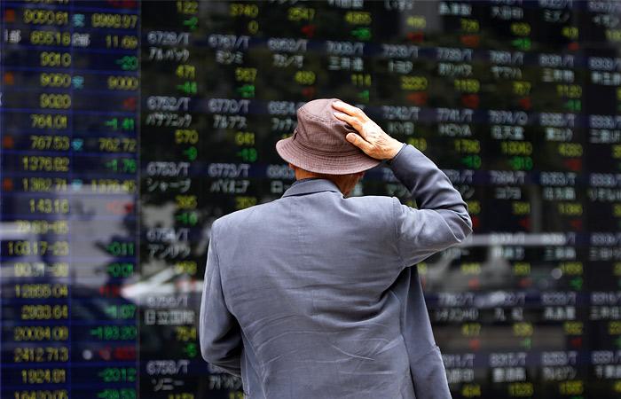 Азиатские рынки упали до минимума за полтора года