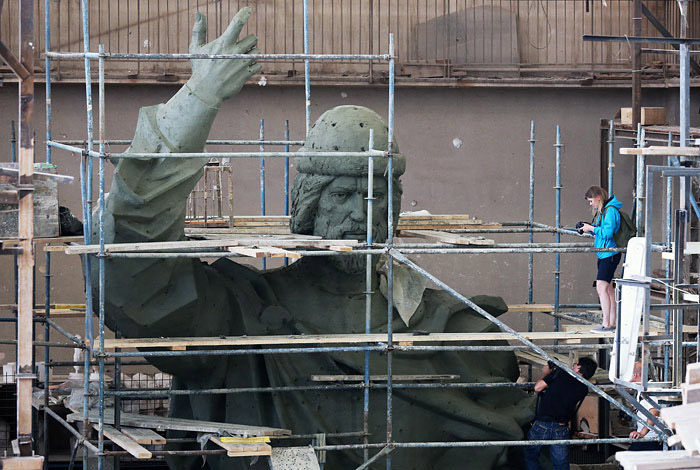 Склон Воробьевых гор укрепят под памятник князю Владимиру