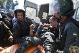 В столкновениях у Верховной Рады пострадали 125 человек