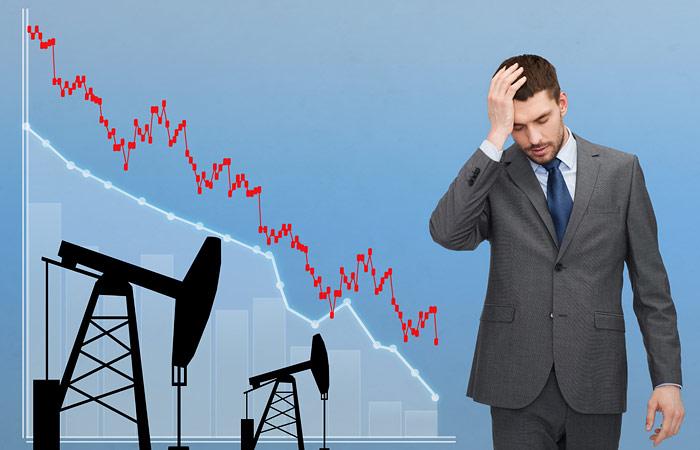 В рисковом сценарии ЦБ цена на нефть в следующем году упадет ниже $40