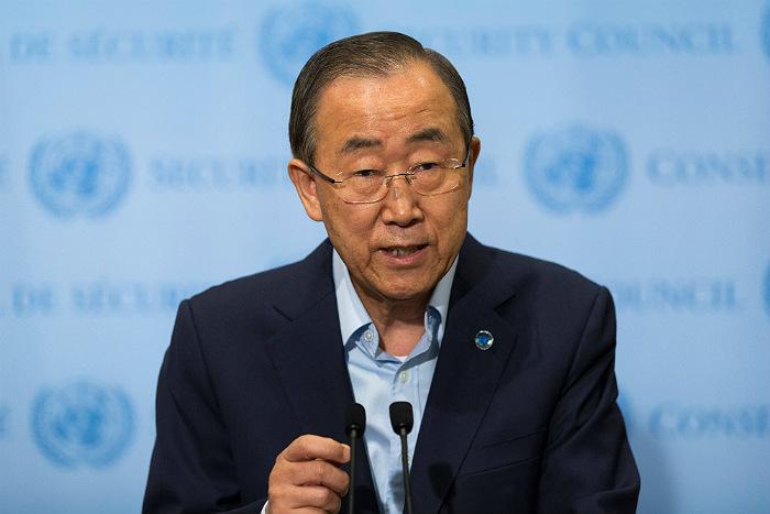 Пан Ги Мун назвал нереальным исключение России из СБ ООН