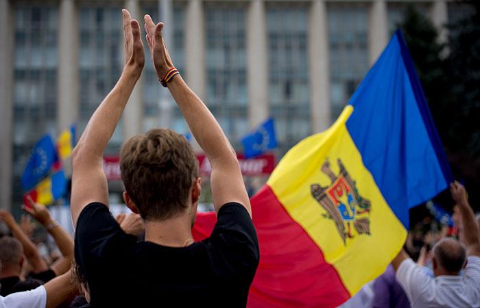 В Кишиневе люди собрались на новую акцию протеста против власти