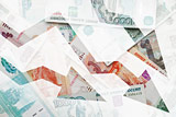 Средняя зарплата россиян в августе упала почти на 10%