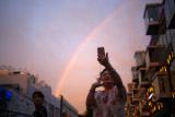 Радугу в Коста-Рике приняли за конец света