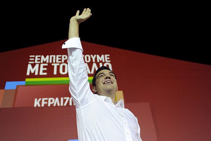Ципрас уже в понедельник будет приведен к присяге