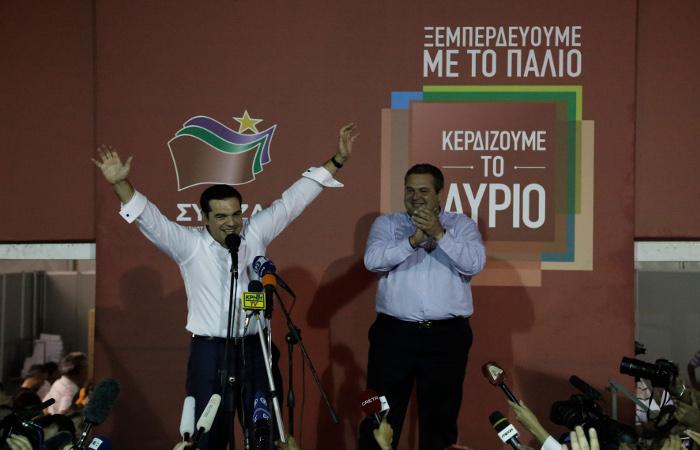 СИРИЗА победила на парламентских выборах в Греции