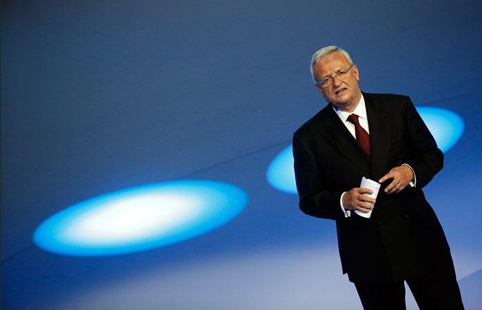 """Глава Volkswagen уйдет в отставку из-за """"дизельного"""" скандала"""
