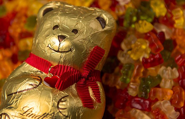 Немецкая Haribo проиграла Lindt суд по шоколадным мишкам
