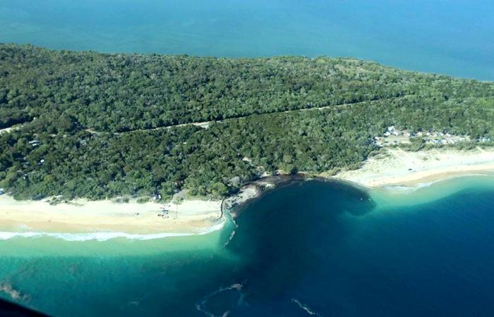 Гигантский кусок побережья Австралии провалился под воду
