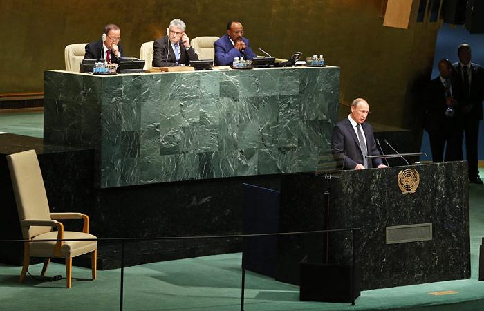 Путин стал главным миротворцем ООН