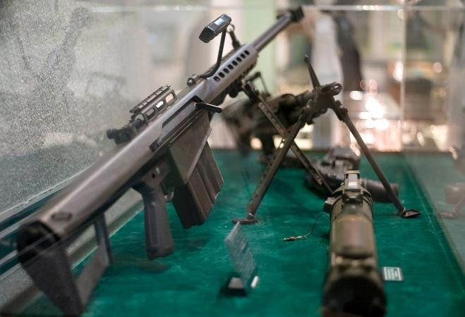 Нацгвардия Украины получила снайперские винтовки Barret