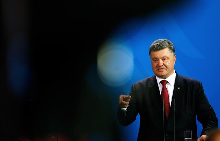 Порошенко обвинил Россию в ведении войны против Украины