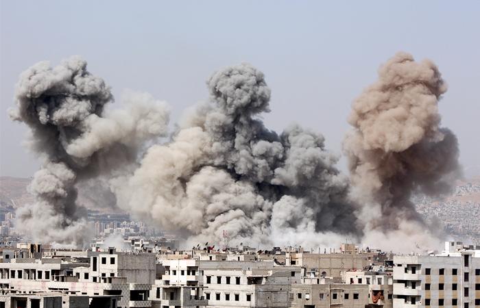 СМИ узнали о первых ударах российских бомбардировщиков в Сирии