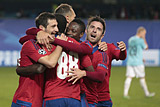 Футболисты ЦСКА победили ПСВ в матче Лиги чемпионов