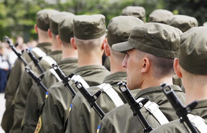 Украинская Рада разрешила службу в армии иностранцам