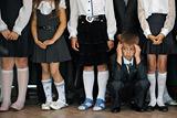 В Думе не поддержали законопроект о еженедельной школьной линейке с гимном