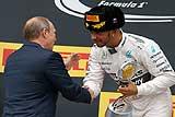 Льюис Хэмилтон победил второй раз на Гран-при России