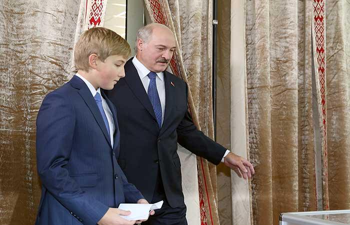 Экзитполы отдали Лукашенко победу на выборах с 80% голосов