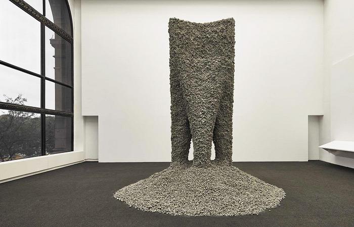 3D-принтер создал из бетонного щебня четырехметровую скульптуру