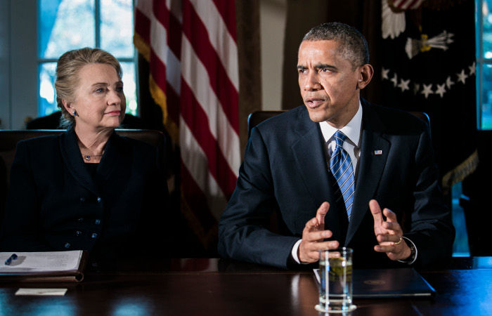 Обама не нашел вреда для нацбезопасности США от скандала с почтой Клинтон